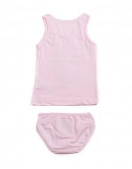 Комплект для девочки маечка с трусиками Единорог Donella 4971 розовый 2010-5
