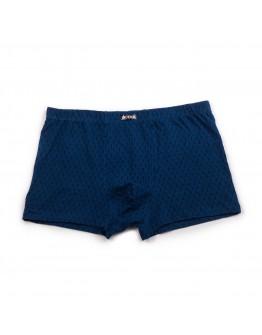 Трусы-боксерки мужские хлопковые Indena 95164 синие 8002-2