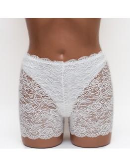 Кружевные женские панталоны Aina 288 молочные k3669-1