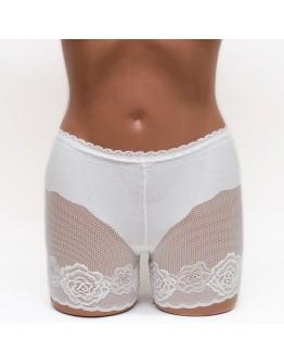 Кружевные женские панталоны Aina 289 белые k3662-1