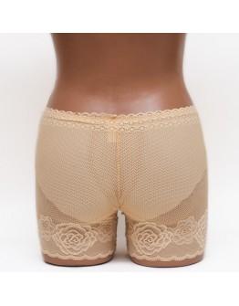 Кружевные женские панталоны Aina 289 бежевые k3662-2